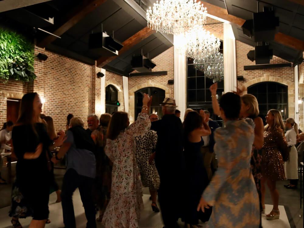 DJ Corey Wedding Dance Floor
