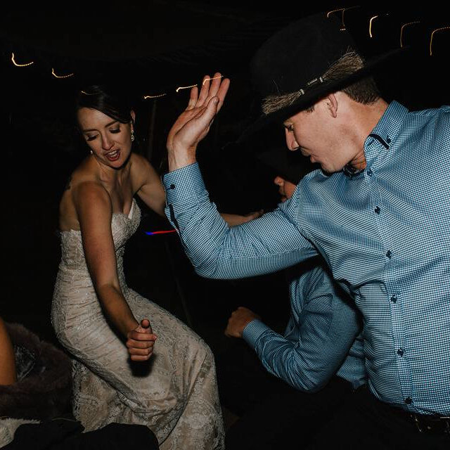DJ Corey Dancing Wedding Guests